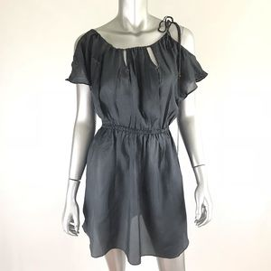 Zimmerman gray mini dress or cover-up size small
